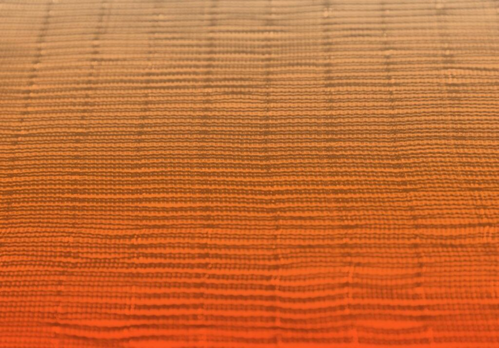 Fasern eines Textils