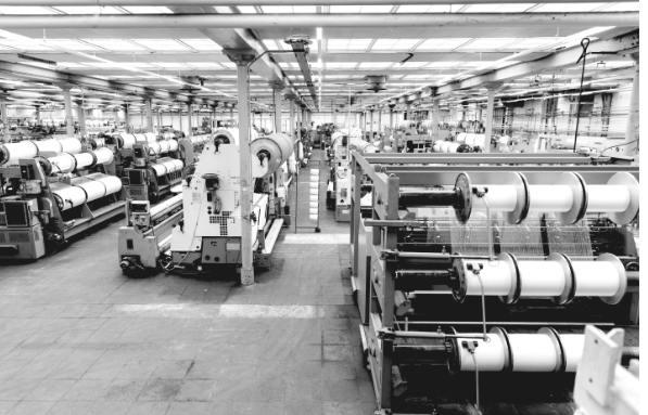 Maschinen zur Textilproduktion